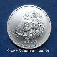 Cook Islands 1Oz Silbermünze Bounty 1 Unze Silber 9999 2015 1 Oz Silver coin