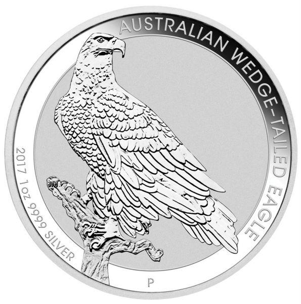 Australian Wedge-Tailed Eagle 2017 1oz Silbermünze