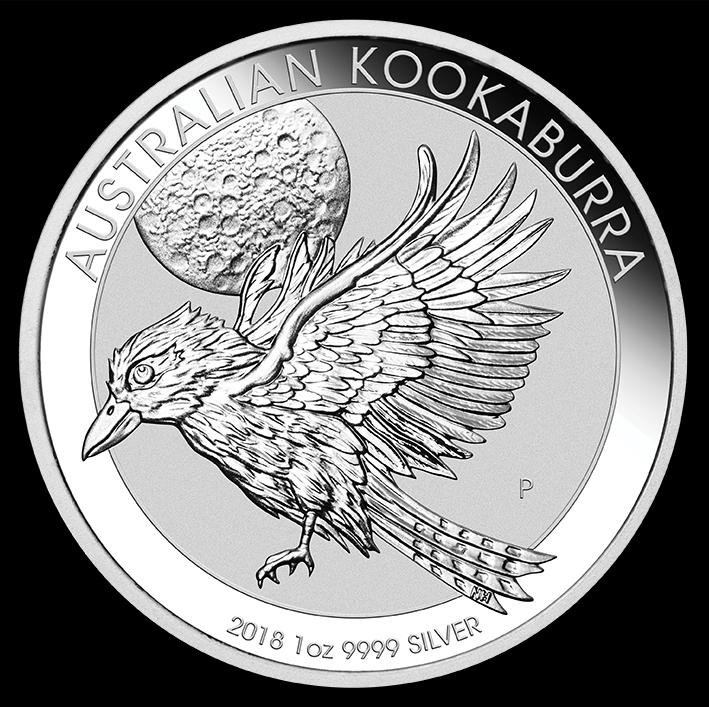 Silberm 252 Nze 2018 Australian Kookaburra 1oz Silber 9999 1unze