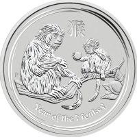 Silbermünze Lunar II Affe 10Oz 10 Unzen Silber 2016 monkey silver coin