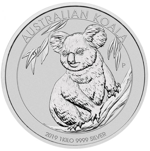 Koala 2019 Silbermünze 1 kg Silber