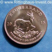 Krügerrand 2015 1 Unze Gold Goldmünze