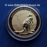 Nugget Kangaroo Känguru Gold Unze 1Oz 9999 2016
