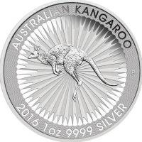 Australian Kangaroo 2016 1oz 9999 Silver the Perth Mint