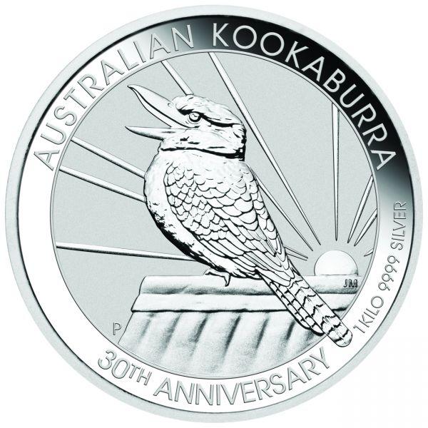 Australian Kookaburra 2020 1kg Silbermünze 1 Kilo Silber silver coin the Perth Mint