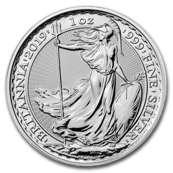 Silbermünze Britannia 1oz 2019 1 Unze Silber