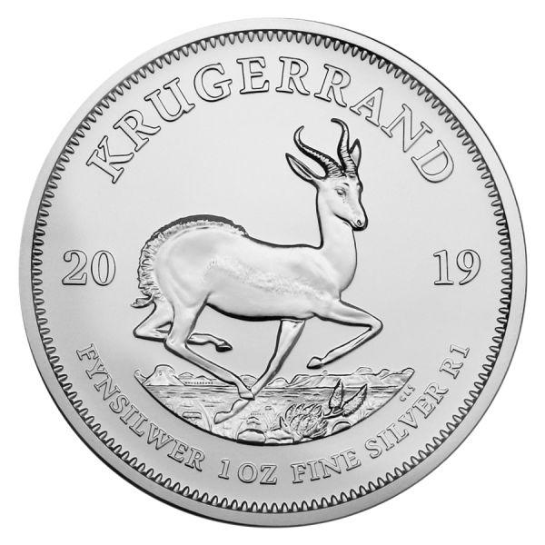 Krugerrand 1 Unze Silbermünze 1 Oz Krügerrand 2019