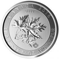 Multi Maple Leaf Superleaf 2016 Silbermünze 1.5 Oz 1,5 Unzen