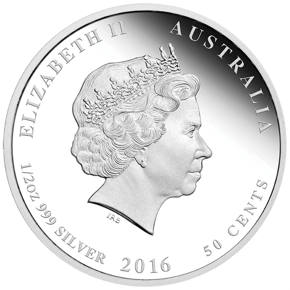 Silberm 252 Nzen 3 Coin Set Lunar Ii Affe 2016 Proof Polierte