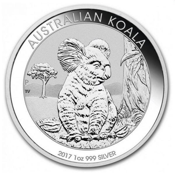 Australian Koala 2017 Silbermünze 1oz 1 Unze 999 SIlver silber
