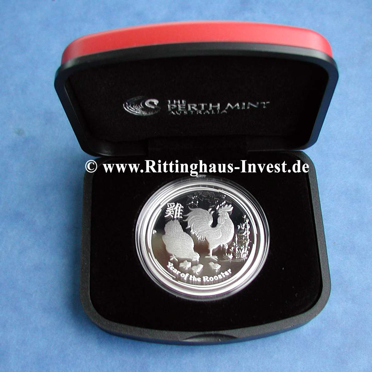 1 Unze Silberm 252 Nze Lunar Ii Hahn 2017 Proof Kaufen