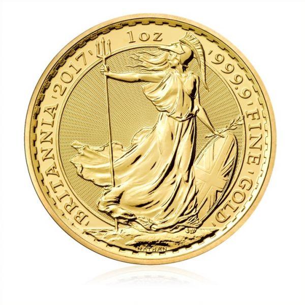 Goldmünze Britannia 2017 1oz Gold