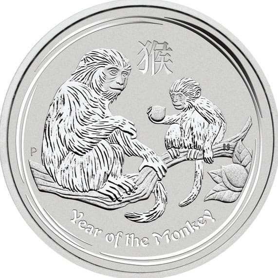 Buy Cheap Lunar Ii Monkey 1oz Silver Coin Year Of The