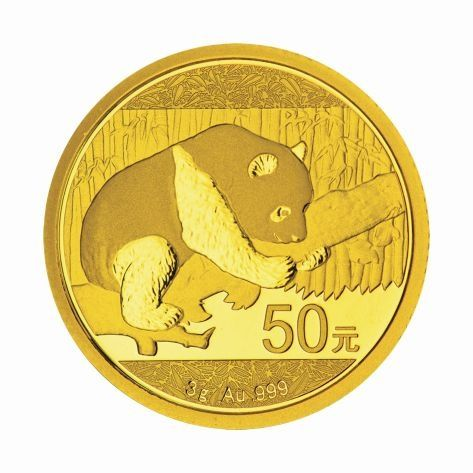 China Panda 2016 3g Gold Goldmünze Gold coin