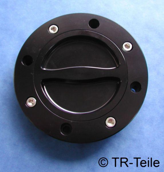 Suzuki GSX-R GSX R Streetfighter 1100 CNC gefräster Tankdeckel gas cap GU74 schwarz black colour