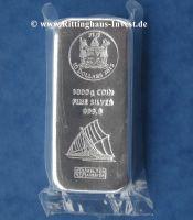 1 kg Silbermünzbarren Fiji Argor Heraeus Silberbarren