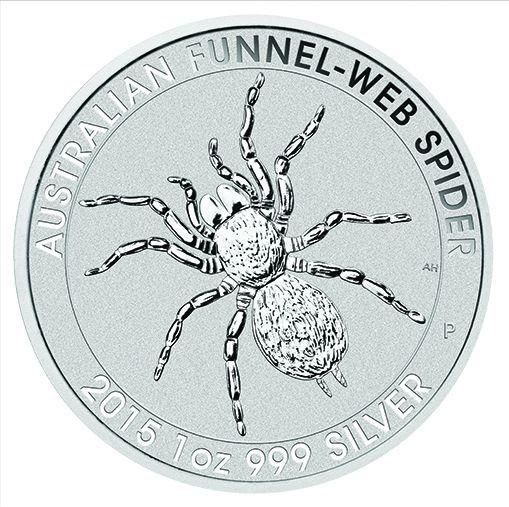 Silberm 252 Nze Trichternetzspinne Funnel Web Spider 1oz