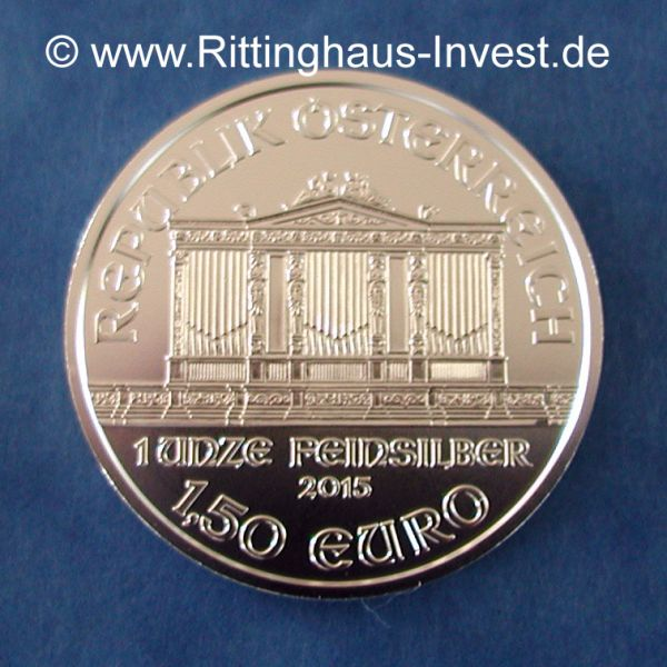 Wiener Philharmoniker 2018 1 Oz Silber Silbermünze Unze silver silvercoin