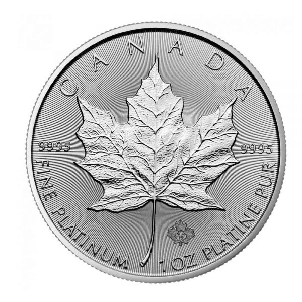 Maple Leaf Platinmünze 1oz 2018 9995 Platinum
