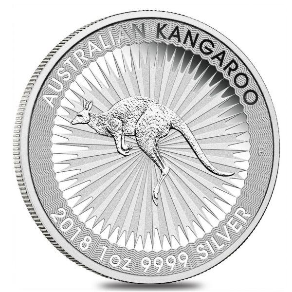 Känguru 2018 Silbermünze Perth Mint Kangaroo