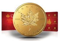 Maplegram8 8 x 1 Gramm Goldmünzen Maple Leaf