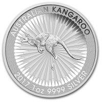 Silbermünze Känguru 2017 Perth Mint Australian Kangaroo 1oz Silber