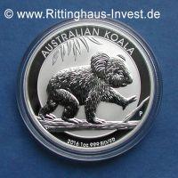 Australian Koala 2016 Silbermünze 1oz 1 Unze 999 SIlver silber