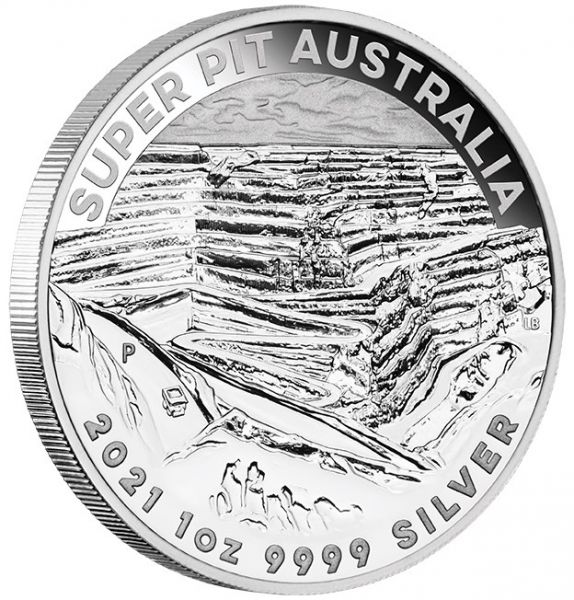 Australian Super Pit 2021 1oz Silbermünze silver coin Perth Mint