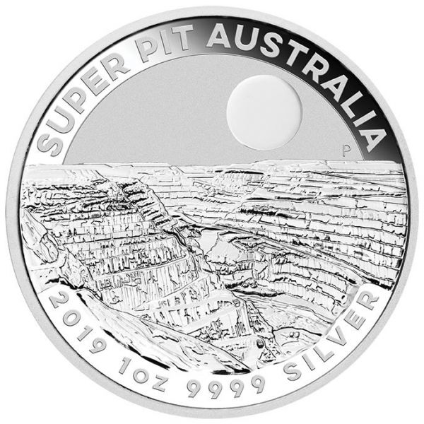 Australian Super Pit 2019 1oz Silbermünze silver coin Perth Mint