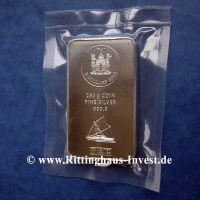 250 g Silbermünzbarren Silberbarren Münzbarren 250 Gramm coin silver bar Argor Heraeus