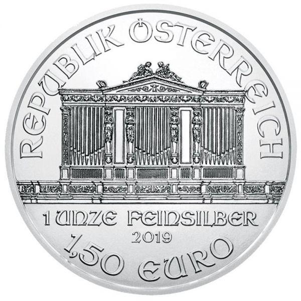 Wiener Philharmoniker 2019 1oz Silbermünze Münze Österreich Vienna Philharmonic
