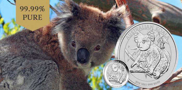 australian-koala-2018-silbermunzen