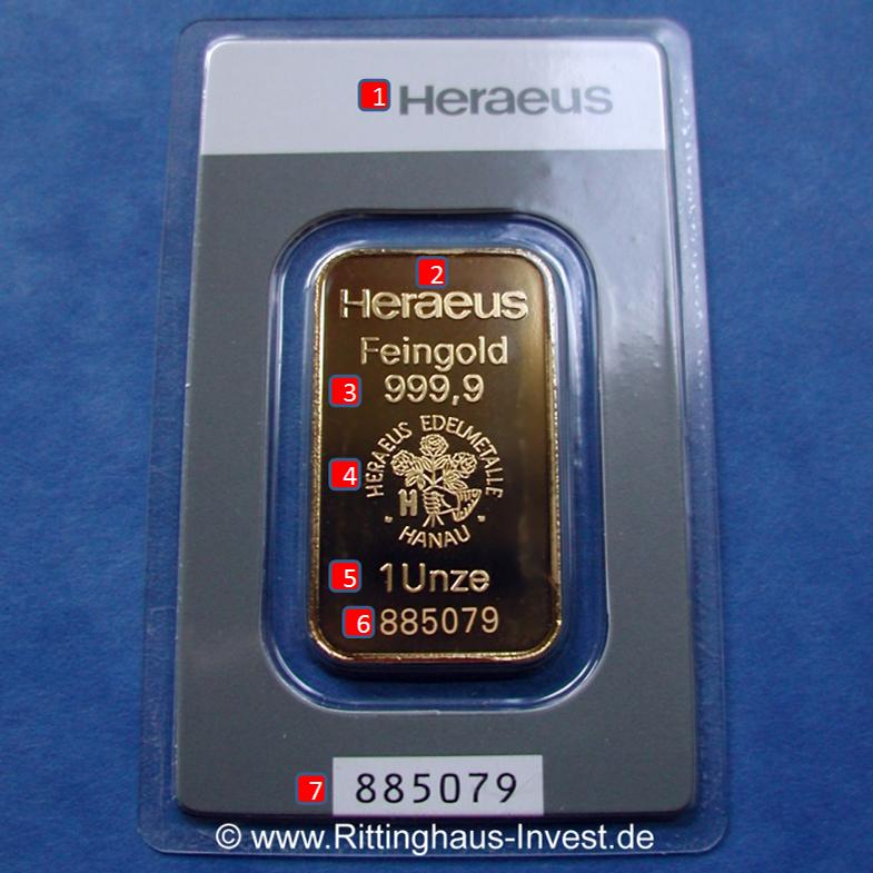 heraeus-1oz-goldbarren-merkmale-vorderseite