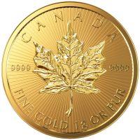 Maple Leaf 1g 1 Gramm Goldmünze 2016 Gold coin