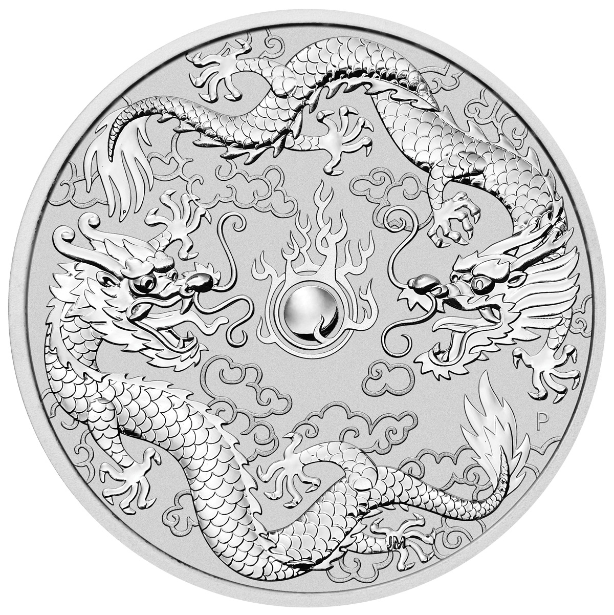 Silberm 252 Nze Double Dragon 2019 Doppel Drache 1oz Silber