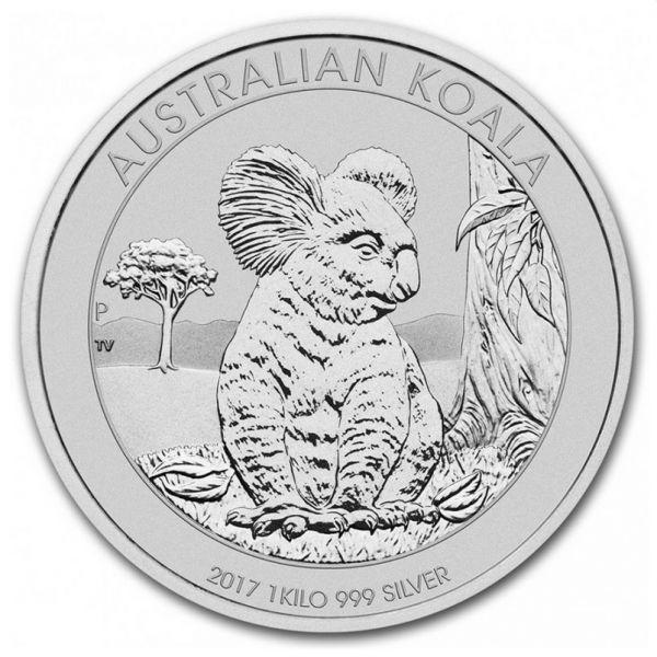 Koala 2017 1 Kilo Silbermünze 1kg Silber