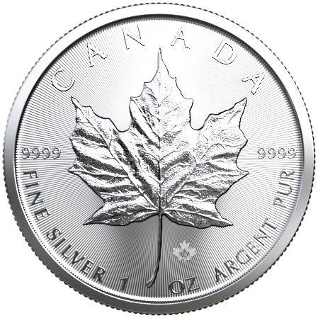 1 Unze Maple Leaf Silbermünze 2019 1oz Silber silver coin
