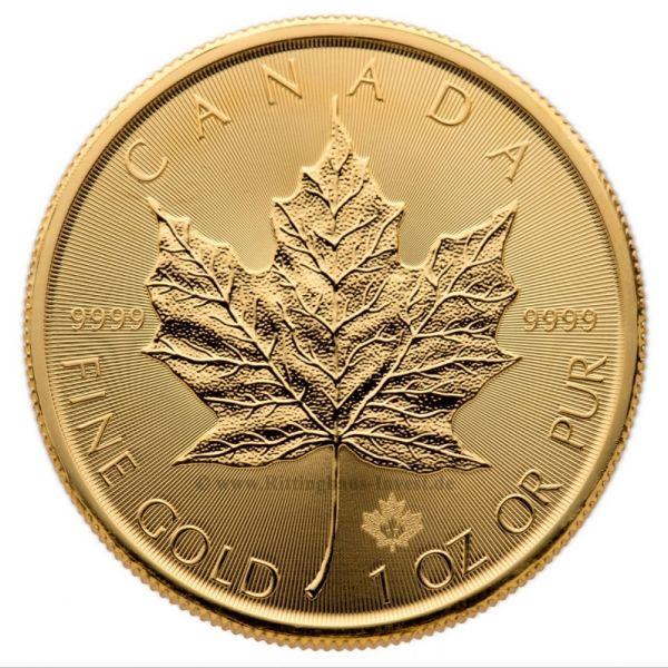 Goldmünze Maple Leaf 2017 1oz Gold Unze 999.9 Feingold