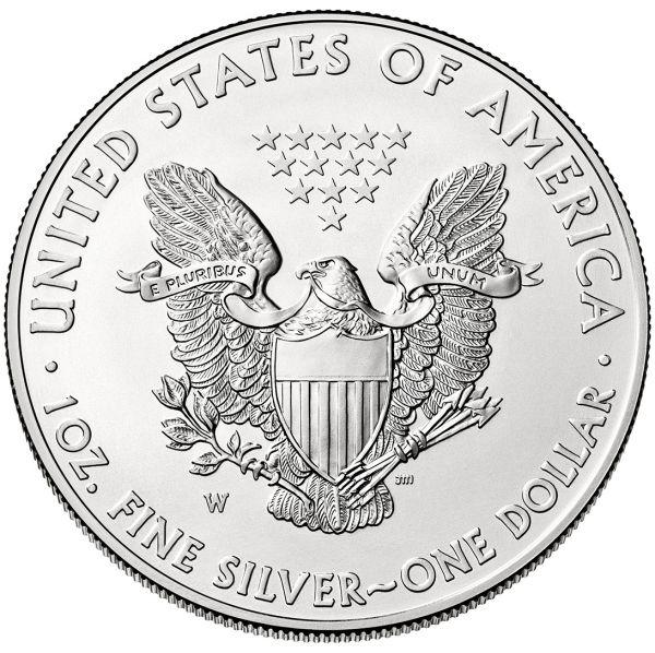 Kaufen Sie Günstig Silbermünze 100x 1oz American Eagle 2018