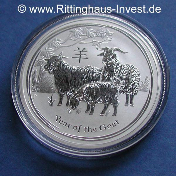 Kaufen Sie G 252 Nstig Silberm 252 Nze Lunar Ii Ziege 1oz Jahr Der