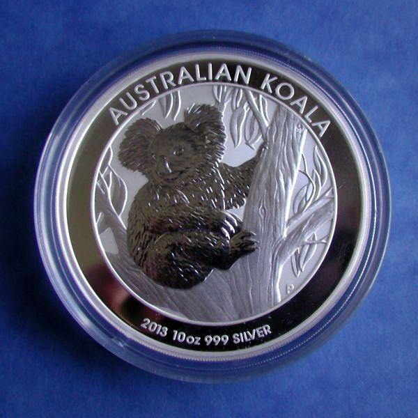 Australien 10 Oz Koala 2013 Silbermünze 999 10 Unzen Silber