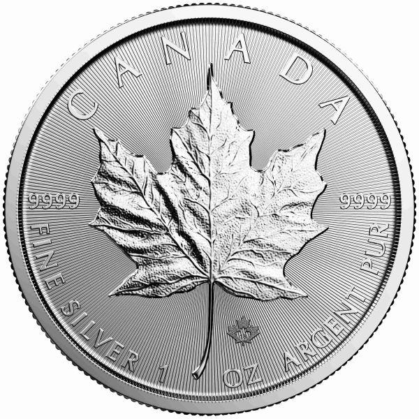 Maple Leaf Silbermünze 2018 1 Unze 1oz Fine silver 9999 Silber canada