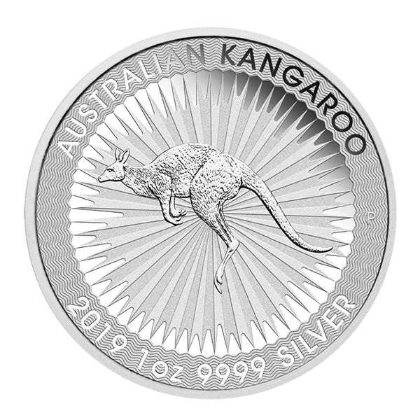 Australian Kangaroo 2019 Känguru 1 Unze Silber 1oz Silbermünze silver coin Perth Mint
