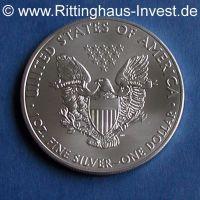 American Eagle 1 Oz Silbermünze 1 Unze 999 Silber 2016