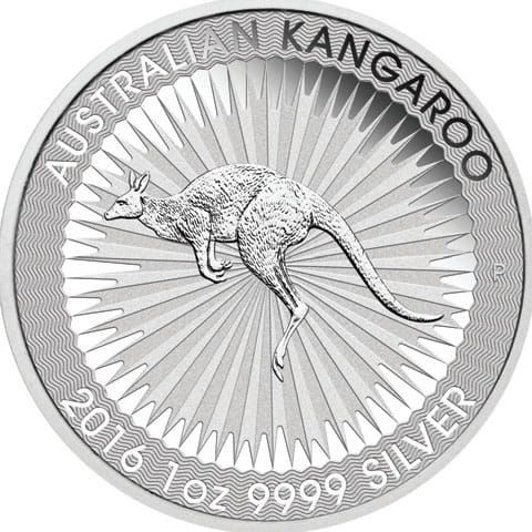 Australian Kangaroo 2016 1oz 9999 Silver the Perth Mint