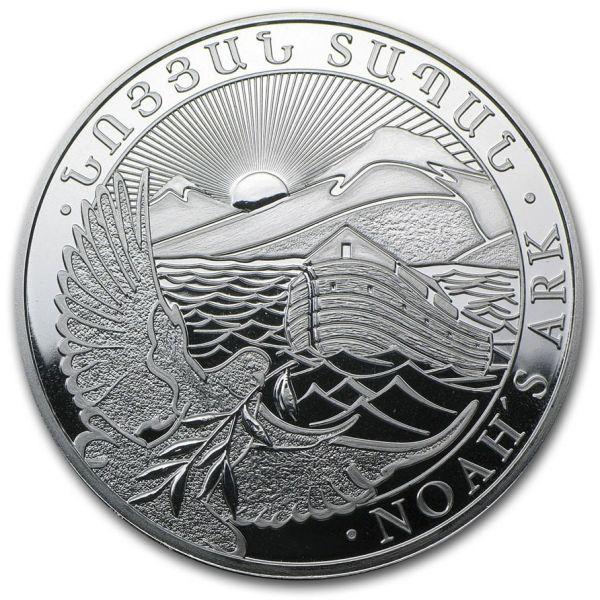 1kg Silbermünze Arche Noah 2018 Armenien silver coin Noah´s Arc